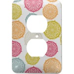 Doily Pattern Electric Outlet Plate (Personalized)