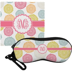 Doily Pattern Eyeglass Case & Cloth (Personalized)