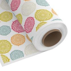 Doily Pattern Custom Fabric - Spun Polyester Poplin (Personalized)