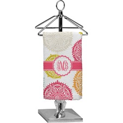 Doily Pattern Finger Tip Towel - Full Print (Personalized)