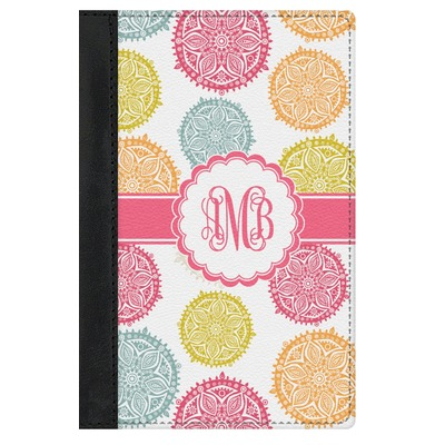 Doily Pattern Genuine Leather Passport Cover (Personalized)