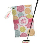 Doily Pattern Golf Towel Gift Set (Personalized)