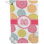 Doily Pattern Golf Towel - Full Print (Personalized)
