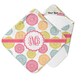 Doily Pattern Hooded Baby Towel (Personalized)