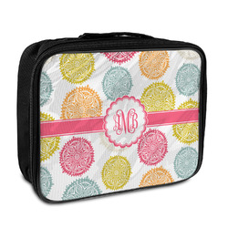 Doily Pattern Insulated Lunch Bag (Personalized)