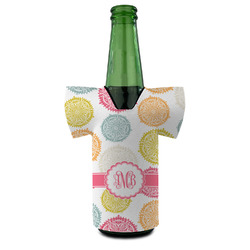 Doily Pattern Bottle Cooler (Personalized)