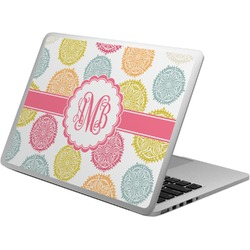 Doily Pattern Laptop Skin - Custom Sized (Personalized)