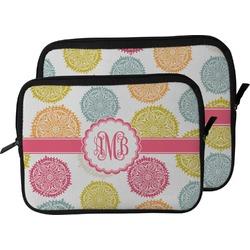 Doily Pattern Laptop Sleeve / Case (Personalized)
