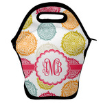 Doily Pattern Lunch Bag w/ Monogram