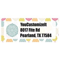 Doily Pattern Return Address Labels (Personalized)