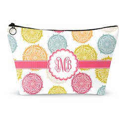 Doily Pattern Makeup Bags (Personalized)
