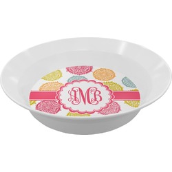 Doily Pattern Melamine Bowls (Personalized)