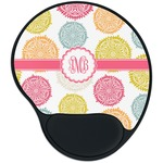 Doily Pattern Mouse Pad with Wrist Support