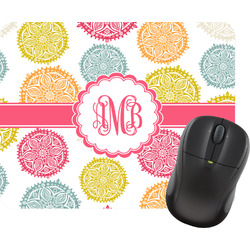 Doily Pattern Mouse Pad (Personalized)