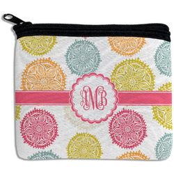 Doily Pattern Rectangular Coin Purse (Personalized)