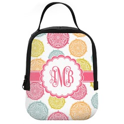 Doily Pattern Neoprene Lunch Tote (Personalized)