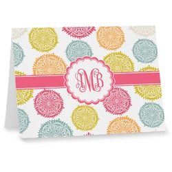 Doily Pattern Note cards (Personalized)