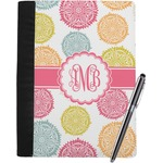 Doily Pattern Notebook Padfolio (Personalized)