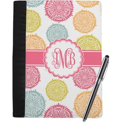 Doily Pattern Notebook Padfolio (Personalized)