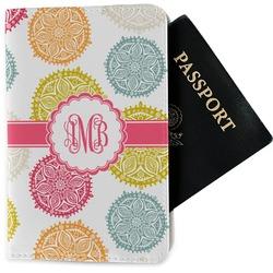 Doily Pattern Passport Holder - Fabric (Personalized)