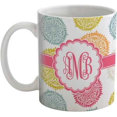 Doily Pattern Coffee Mug (Personalized)