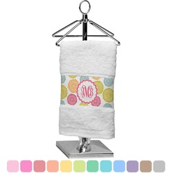Doily Pattern Finger Tip Towel (Personalized)
