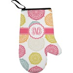 Doily Pattern Right Oven Mitt (Personalized)