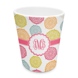 Doily Pattern Plastic Tumbler 6oz (Personalized)