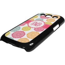 Doily Pattern Plastic Samsung Galaxy 3 Phone Case (Personalized)