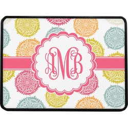 Doily Pattern Rectangular Trailer Hitch Cover (Personalized)