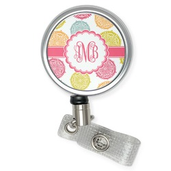 Doily Pattern Retractable Badge Reel (Personalized)