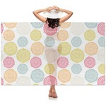 Doily Pattern Sheer Sarong (Personalized)
