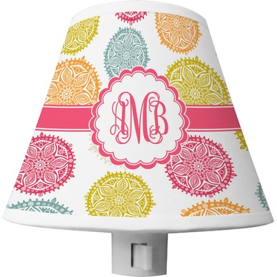 Doily Pattern Shade Night Light (Personalized)