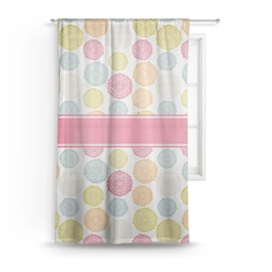 Doily Pattern Sheer Curtains (Personalized)