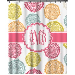 """Doily Pattern Extra Long Shower Curtain - 70""""x84"""" (Personalized)"""