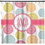 Doily Pattern Shower Curtain (Personalized)