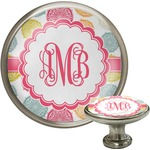 Doily Pattern Cabinet Knob (Silver) (Personalized)
