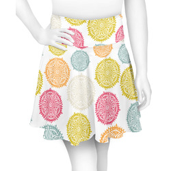 Doily Pattern Skater Skirt (Personalized)