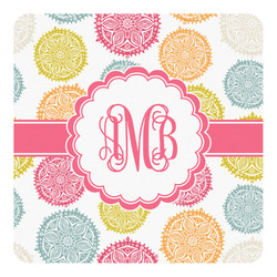 Doily Pattern Square Decal - Custom Size (Personalized)