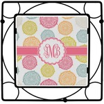 Doily Pattern Square Trivet (Personalized)