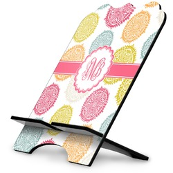 Doily Pattern Stylized Tablet Stand (Personalized)
