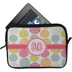 Doily Pattern Tablet Case / Sleeve - Small (Personalized)
