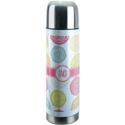 Doily Pattern Stainless Steel Thermos (Personalized)