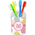 Doily Pattern Toothbrush Holder (Personalized)