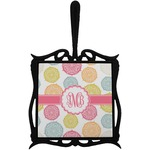 Doily Pattern Trivet with Handle (Personalized)