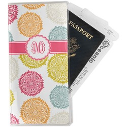 Doily Pattern Travel Document Holder