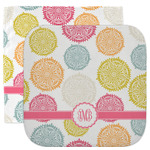 Doily Pattern Facecloth / Wash Cloth (Personalized)