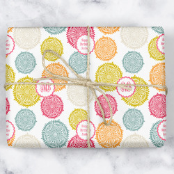 Doily Pattern Wrapping Paper (Personalized)