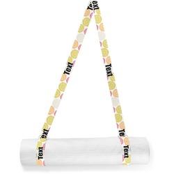 Doily Pattern Yoga Mat Strap (Personalized)