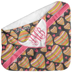 Hearts Baby Hooded Towel (Personalized)